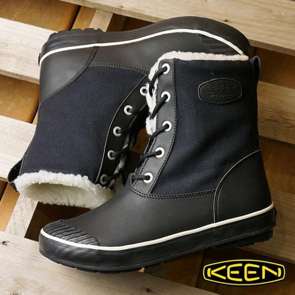 キーン KEEN レディース ウィンターブーツ スノーブーツ Elsa L Boot WP WMN ウィメンズ Black  1015633 FW16|mischief|02