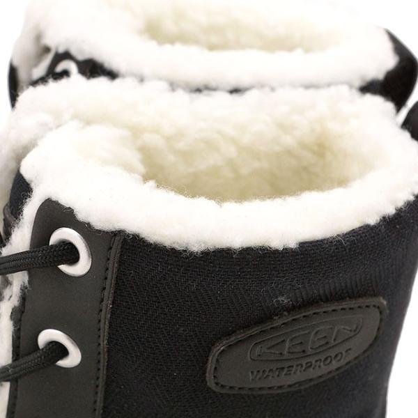 キーン KEEN レディース ウィンターブーツ スノーブーツ Elsa L Boot WP WMN ウィメンズ Black  1015633 FW16|mischief|04