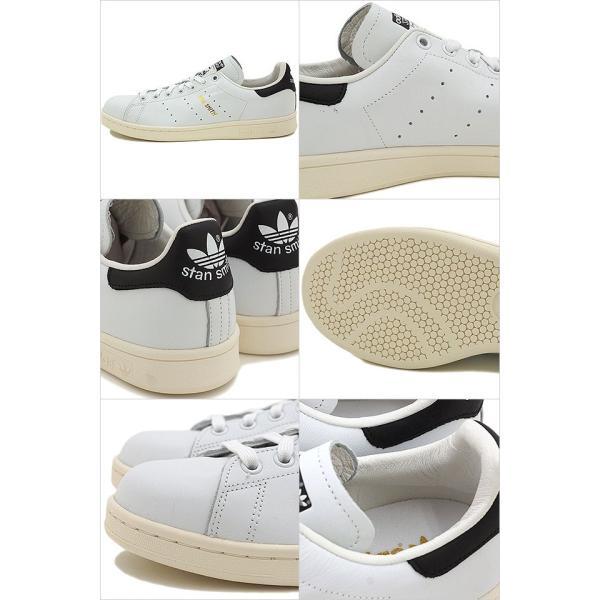 25.5〜29cm adidas アディダス スタンスミス STAN SMITH オリジナルス Originals Rホワイト/Cブラック S75076 FW17|mischief|03
