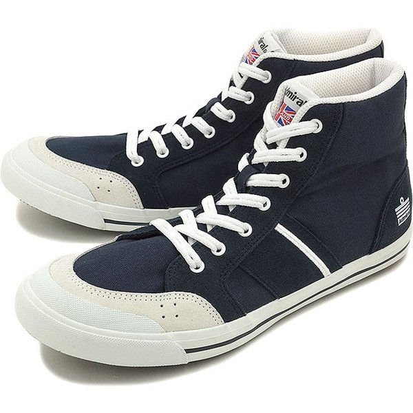 アドミラル イノマー ハイ メンズ レディース スニーカー 靴 Admiral INOMER HI Navy SJAD1511-10