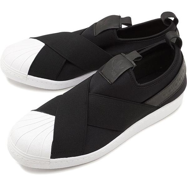 adidas アディダス スーパースター SUPERSTAR SlipOn スリッポン adidas Originals BZ0112 FW17|mischief