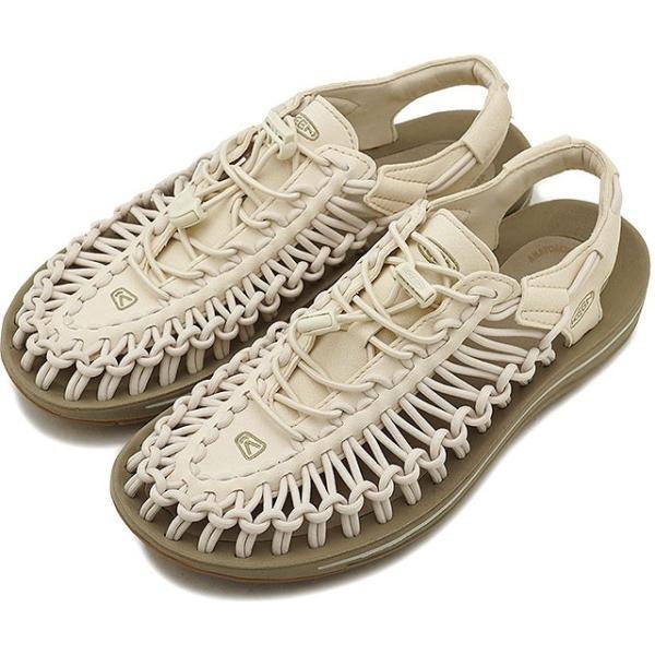 KEENキーンユニークサンダル靴レディースWUNEEKユニークWhitecap/Cornstalk1018698SS18