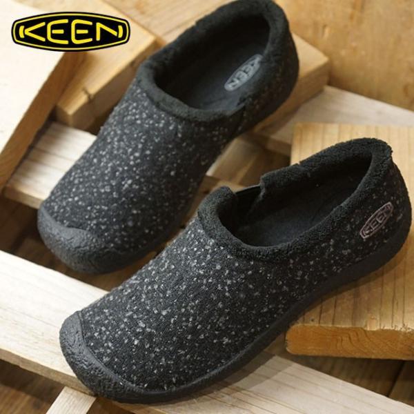 キーン KEEN レディース ハウザー スライド ウール リラックス コンフォートクロッグ モック 靴 1019486 FW18