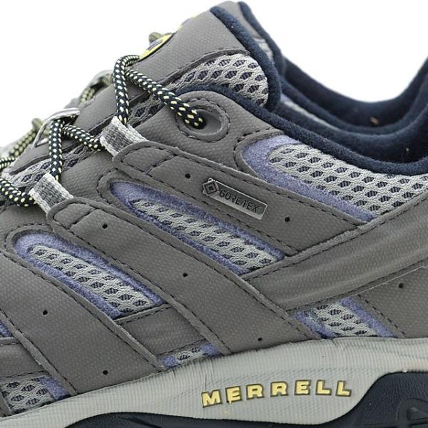メレル MERRELL レディース モアブ2 ゴアテックス WMS MOAB2 GORE-TEX ハイキング トレッキングシューズ スニーカー 靴 NAVY MORNING グレー系 19888 SS19
