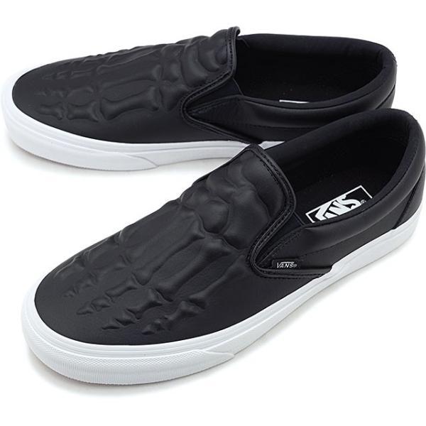 バンズ VANS クラシック スリップオン エックスレイ ボーンズ CLASSIC SLIP-ON メンズ レディース ヴァンズ スリッポン スニーカー 靴 BLACK VN0A4BV3V9J FW19|mischief