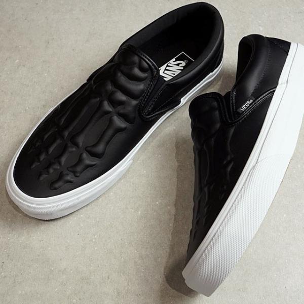 バンズ VANS クラシック スリップオン エックスレイ ボーンズ CLASSIC SLIP-ON メンズ レディース ヴァンズ スリッポン スニーカー 靴 BLACK VN0A4BV3V9J FW19|mischief|02