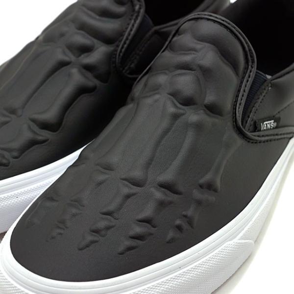バンズ VANS クラシック スリップオン エックスレイ ボーンズ CLASSIC SLIP-ON メンズ レディース ヴァンズ スリッポン スニーカー 靴 BLACK VN0A4BV3V9J FW19|mischief|04