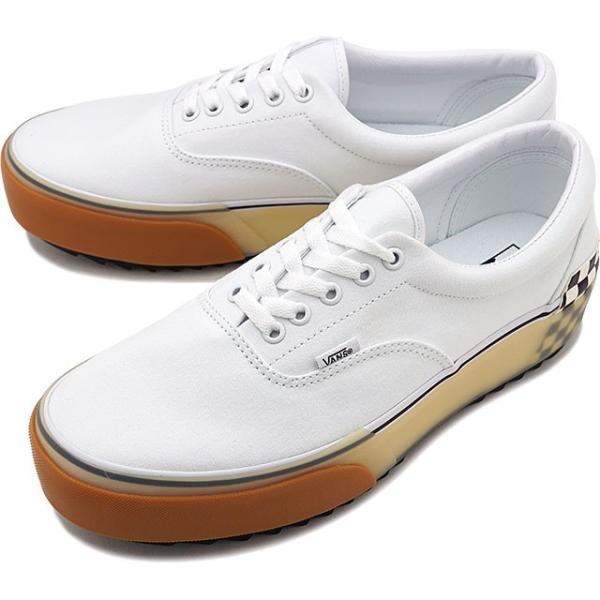 バンズ VANS エラ スタックド ERA STACKED メンズ レディース ヴァンズ 厚底スニーカー 靴 WHITE VN0A4BTOTDC FW19 mischief
