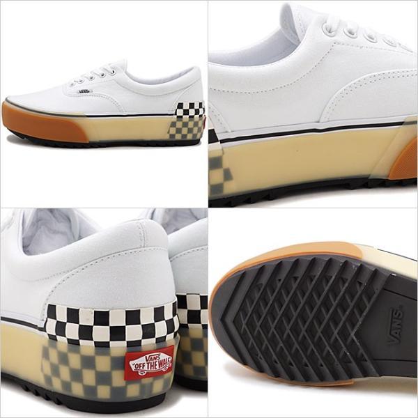 バンズ VANS エラ スタックド ERA STACKED メンズ レディース ヴァンズ 厚底スニーカー 靴 WHITE VN0A4BTOTDC FW19 mischief 03