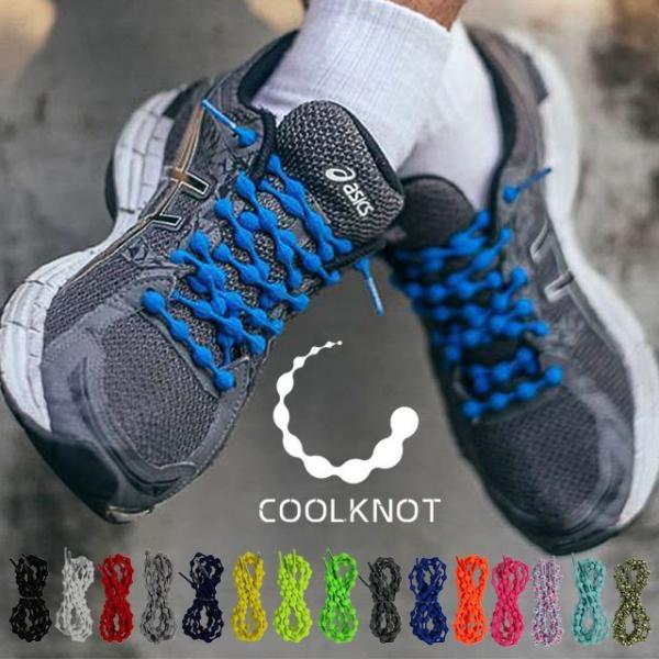 クールノット COOLKNOT シューレース 結ばない靴ひも メンズ レディース ジュニア Mサイズ Lサイズ スポーツ ランニング ゴム紐 HA50A HA75A メール便対応|mischief|02