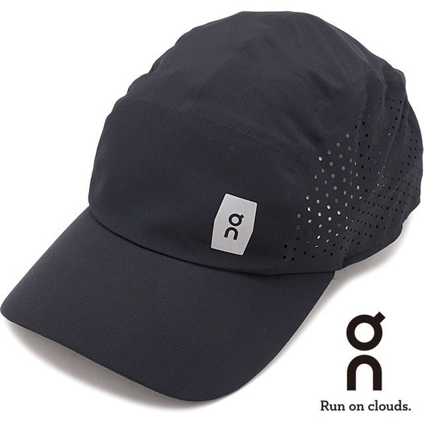 オン On ライトウェイトキャップ Lightweight Cap 301.00015 SS21 メンズ・レディース ランニングキャップ 帽子 フリーサイズ ブラック ブラック系