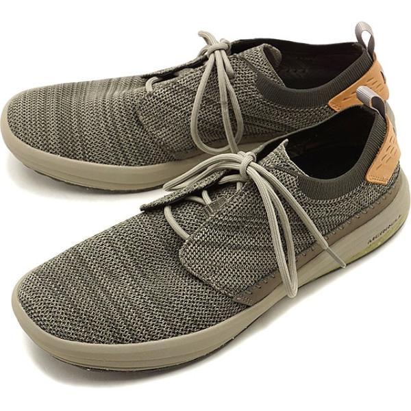 メレル MERRELL メンズ グリッドウェイ MNS GRIDWAY リラックス スニーカー 靴 BOULDER グレー系 97465 SS19|mischiefstyle|02