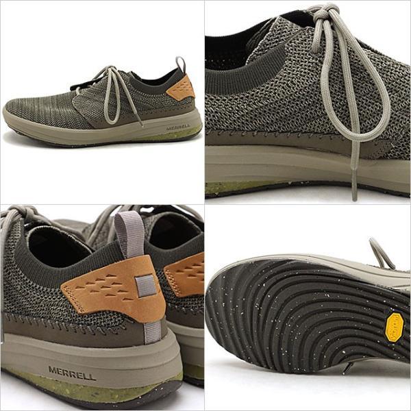 メレル MERRELL メンズ グリッドウェイ MNS GRIDWAY リラックス スニーカー 靴 BOULDER グレー系 97465 SS19|mischiefstyle|03