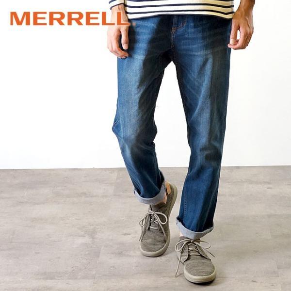 メレル MERRELL メンズ グリッドウェイ MNS GRIDWAY リラックス スニーカー 靴 BOULDER グレー系 97465 SS19|mischiefstyle|05