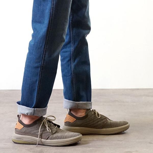 メレル MERRELL メンズ グリッドウェイ MNS GRIDWAY リラックス スニーカー 靴 BOULDER グレー系 97465 SS19|mischiefstyle|06