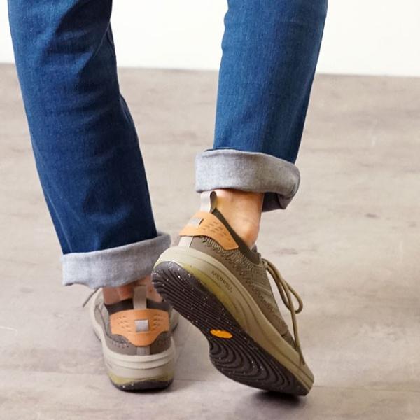 メレル MERRELL メンズ グリッドウェイ MNS GRIDWAY リラックス スニーカー 靴 BOULDER グレー系 97465 SS19|mischiefstyle|07