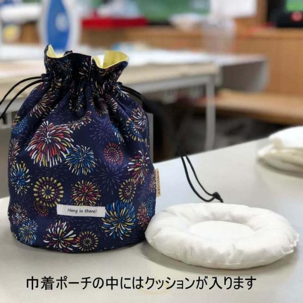 がんばっぺし!! 丸底巾着ポーチ|mishinkoubou|10