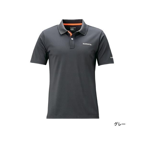 シマノ ポロシャツ(半袖) SH-074R|mishop|02