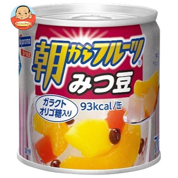 はごろもフーズ 朝からフルーツ みつ豆 190g缶×24個入