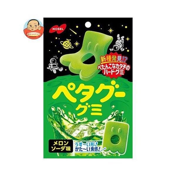 ノーベル製菓 ペタグーグミ メロンソーダ 50g×6袋入