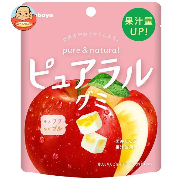 カバヤ ピュアラルグミ りんご 58g×8袋入