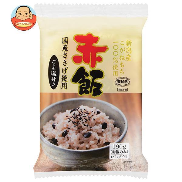たかの 赤飯 ごま塩(1.5g)付き 190g×10個入