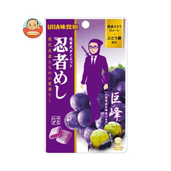 UHA味覚糖 忍者めし (巨峰) 20g×10袋入