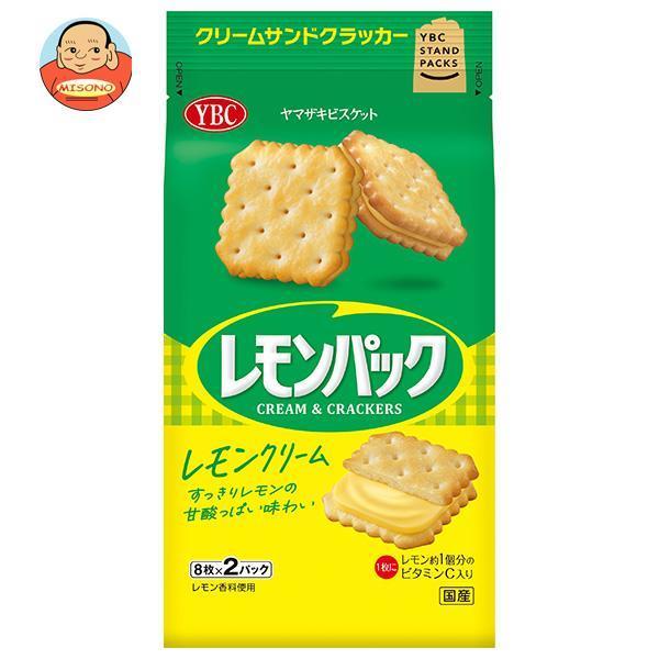 【送料無料・メーカー/問屋直送品・代引不可】ヤマザキビスケット レモンパック (9枚×2P)×10袋入
