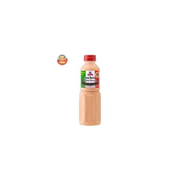 ユウキ食品 MC アンチョビイタリアンドレッシング 480ml×6本入