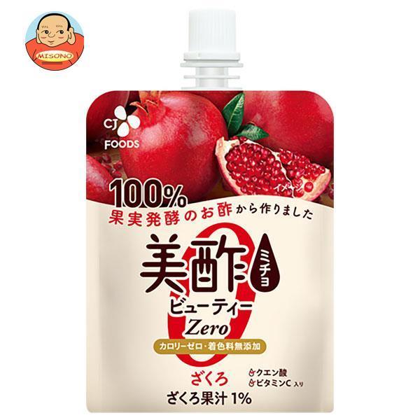 CJジャパン美酢(ミチョ)ビューティービネガーゼリーざくろ130gパウチ×36本入