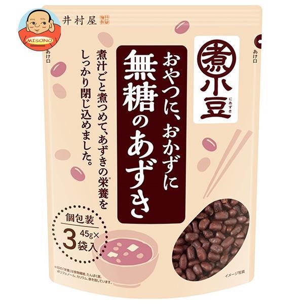 井村屋 無糖のあずき 3袋入 45g×3×10袋入