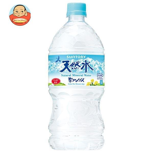 サントリー 天然水(南アルプス) 1L×12本 PET