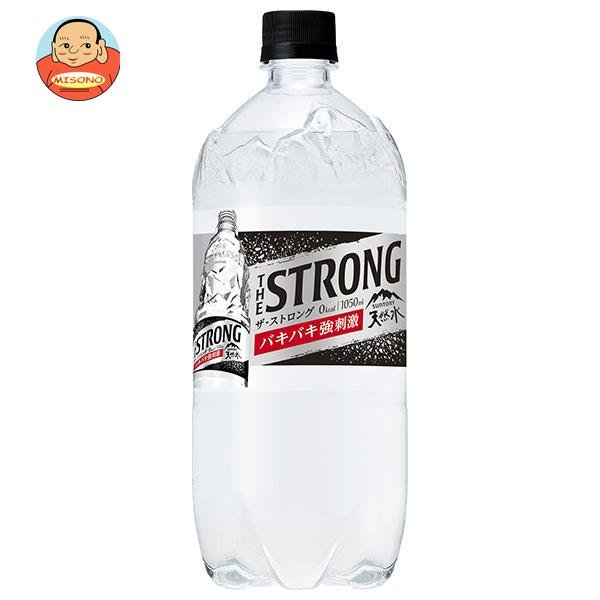 THE STRONG 天然水スパークリング 1050ml×12本 PET