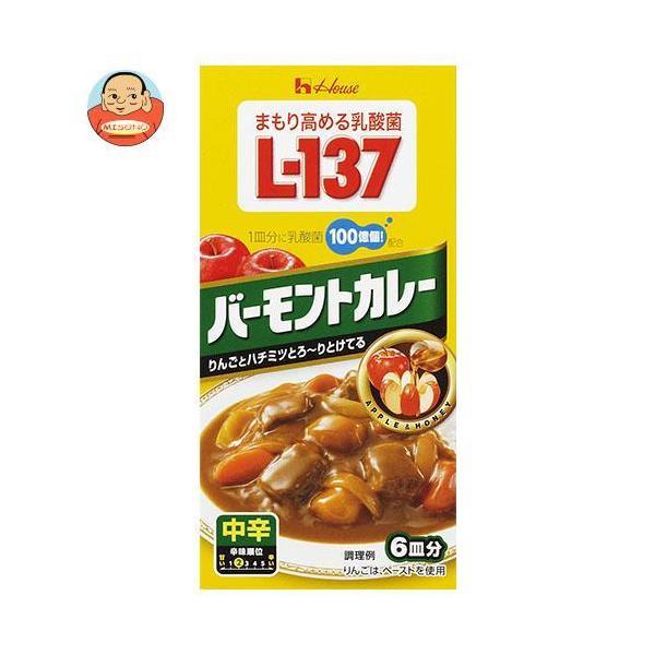 ハウス食品 乳酸菌L-137 バーモントカレー 中辛 115g×10個入