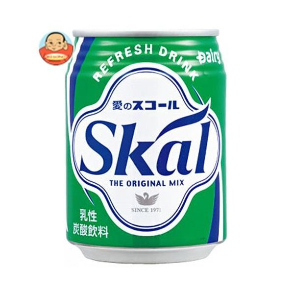 南日本酪農協同(株)スコールホワイト250ml太缶×24本入