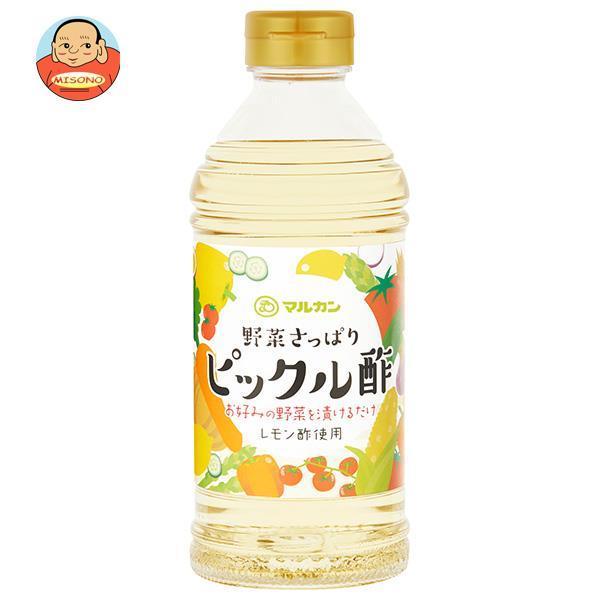 マルカン酢 ピックル酢 500mlペットボトル×12本入