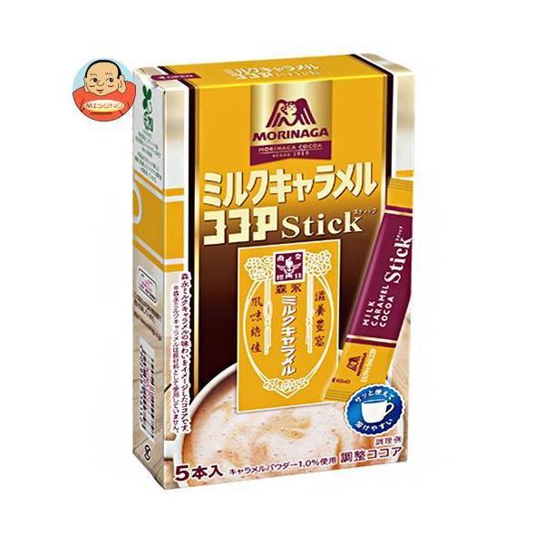 森永製菓 ミルクキャラメルココアスティック 60g(12g×5本)×48箱入