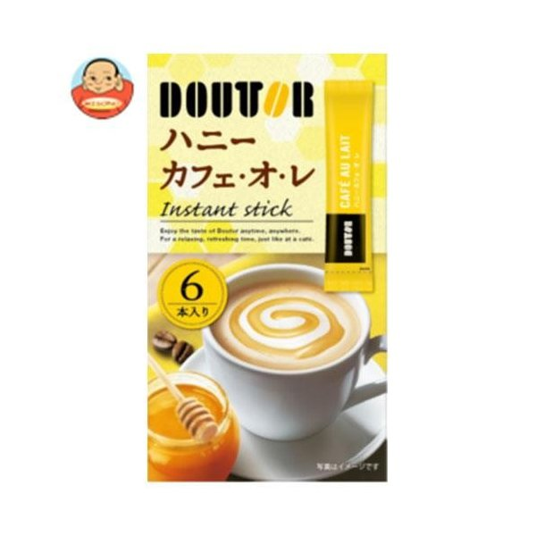 ドトールコーヒー ドトール インスタント ハニーカフェ・オ・レ 78g(13g×6袋)×36個入