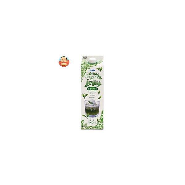 ホーマー クラッシュド グリンティーゼリー 1L紙パック×12本入
