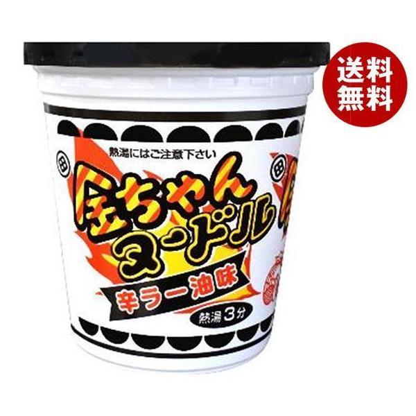 送料無料 徳島製粉 金ちゃんヌードル 辛ラー油味 81g×12個入