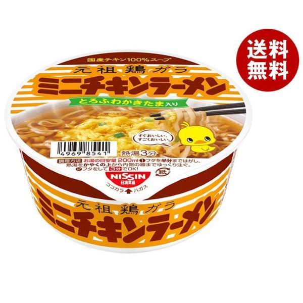 送料無料 日清食品 チキンラーメン どんぶりミニ 38g×24(12×2)個入