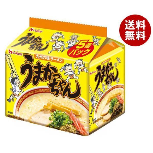送料無料 ハウス食品 九州の味ラーメン うまかっちゃん 5食パック×6個入