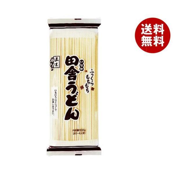 送料無料 【2ケースセット】五木食品 業務用 田舎うどん 500g×20袋入×(2ケース)