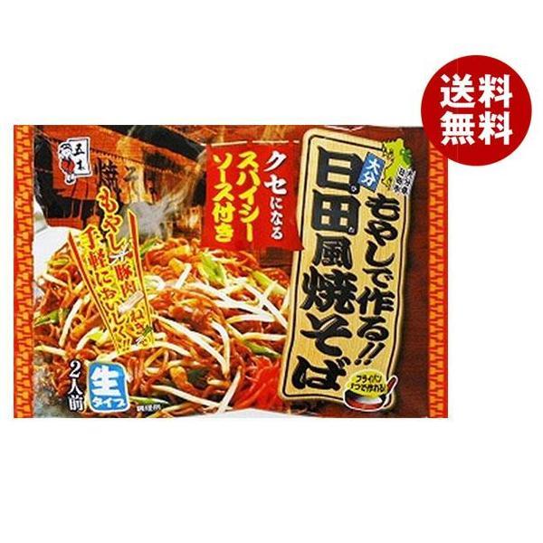 送料無料 【2ケースセット】五木食品 日田風焼そば 362g×18袋入×(2ケース)
