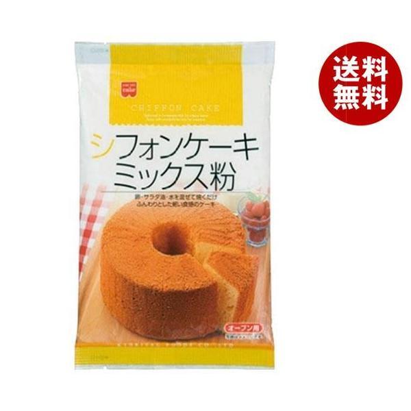 送料無料 共立食品 シフォンケーキミックス粉 200g×6袋入