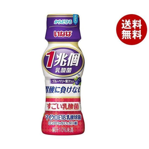 送料無料 いなば食品 すごい乳酸菌 1兆個 ブルーベリー果汁 65mlペットボトル×50本入