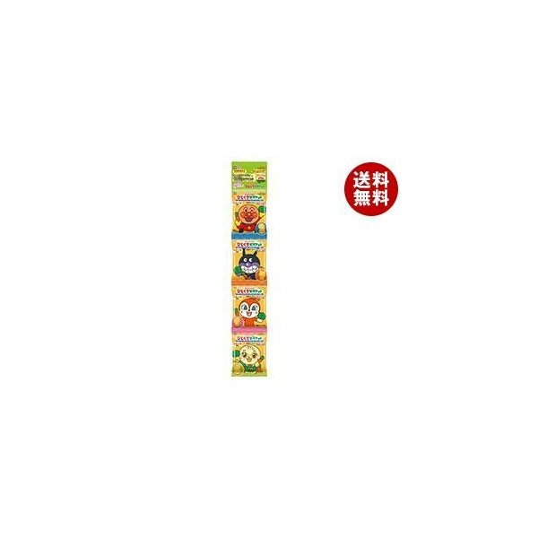 送料無料 不二家 アンパンマンひとくちビスケット4連 80g(20g×4)×10袋入