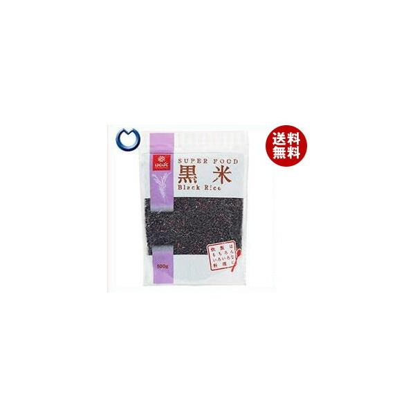 送料無料 【2ケースセット】はくばく 黒米 500g×6袋入×(2ケース)