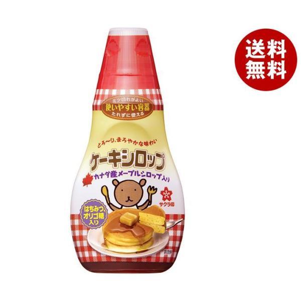 送料無料 加藤美蜂園本舗 サクラ印 ケーキシロップ 150g×12本入