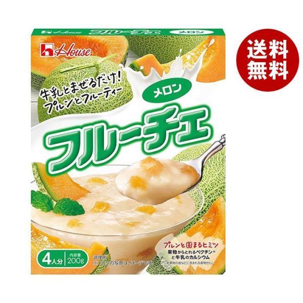 送料無料 【2ケースセット】ハウス食品 フルーチェ メロン 200g×30個入×(2ケース)